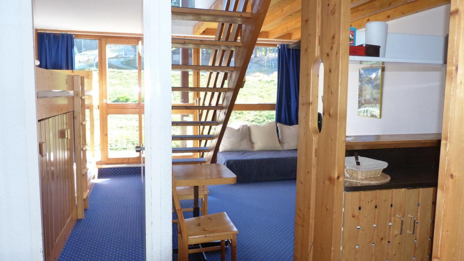 Location au ski Appartement duplex 5 pièces 10 personnes (1307) - Residence Les Tournavelles - Les Arcs - Séjour