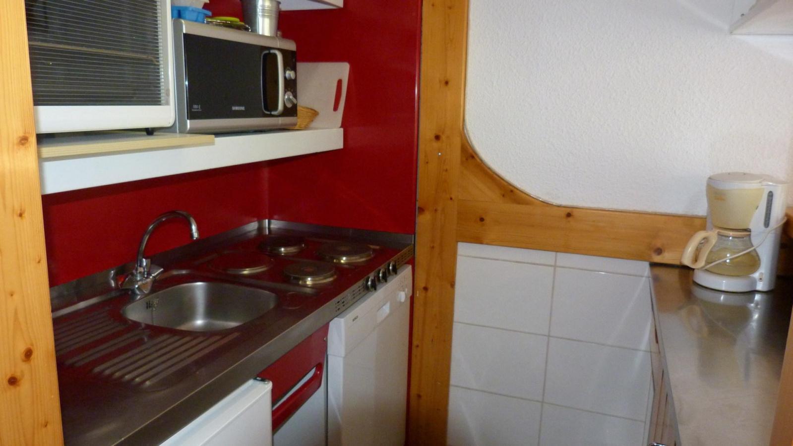 Location au ski Appartement 2 pièces 5 personnes (305) - Residence Les Tournavelles - Les Arcs - Extérieur hiver