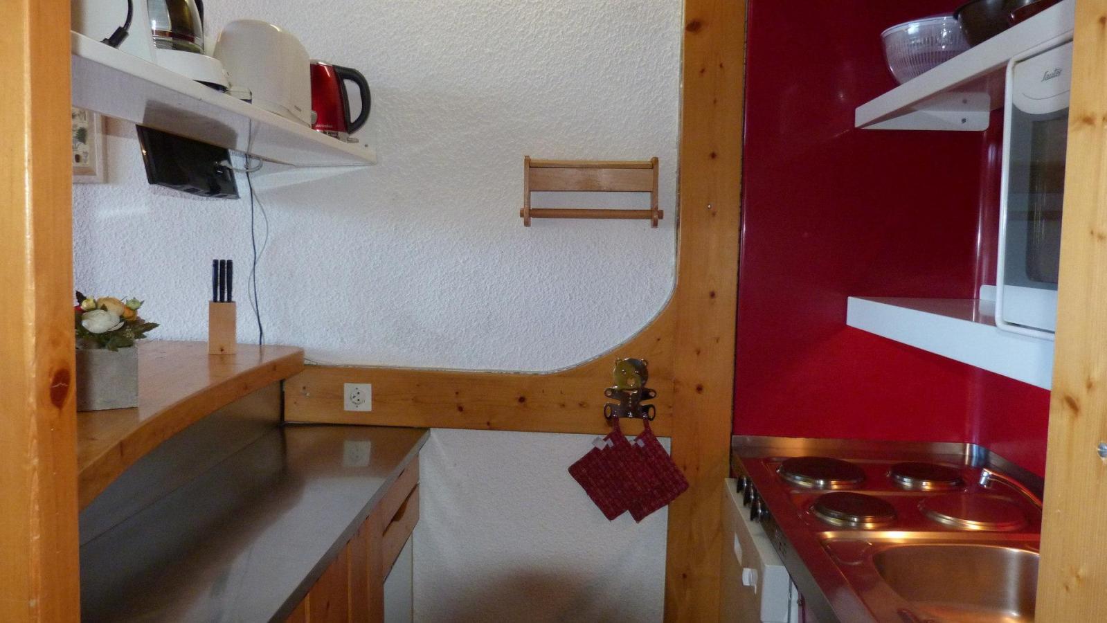 Location au ski Appartement duplex 3 pièces 6 personnes (1404) - Residence Les Tournavelles - Les Arcs - Extérieur hiver