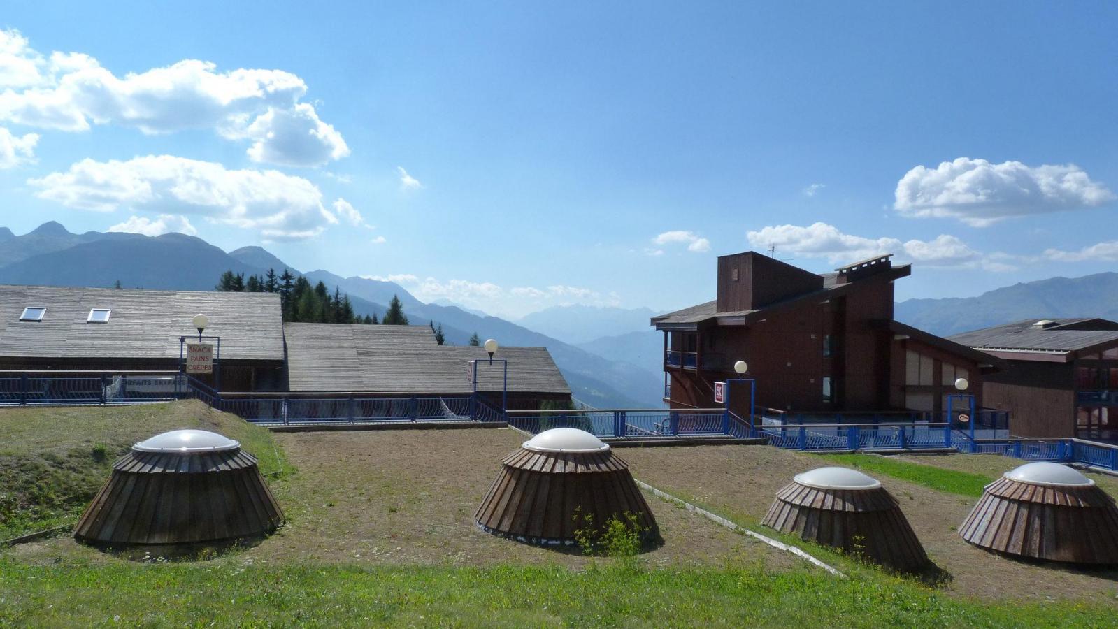 Location au ski Studio 5 personnes (020) - Residence Les Tournavelles - Les Arcs - Canapé