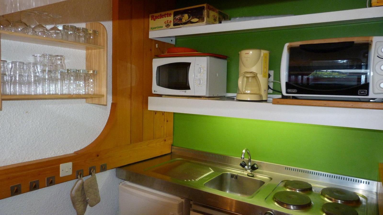 Location au ski Appartement 2 pièces 5 personnes (1358R) - Residence Nova - Les Arcs