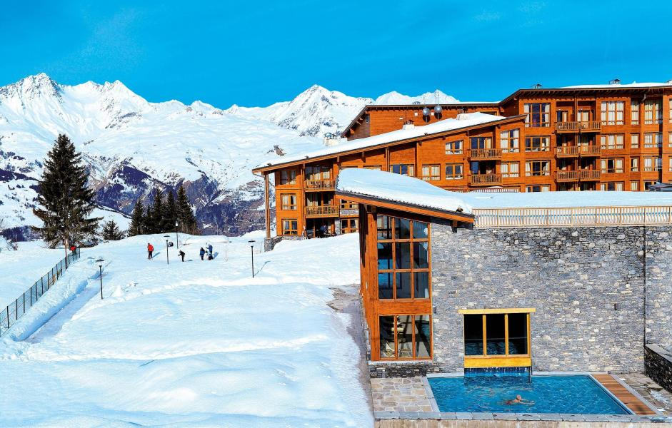 Wynajem na narty Appart'Hôtel Eden - Les Arcs - Zima na zewnątrz