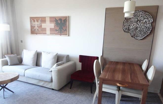 Rent in ski resort Appart'Hôtel Eden - Les Arcs - Living room