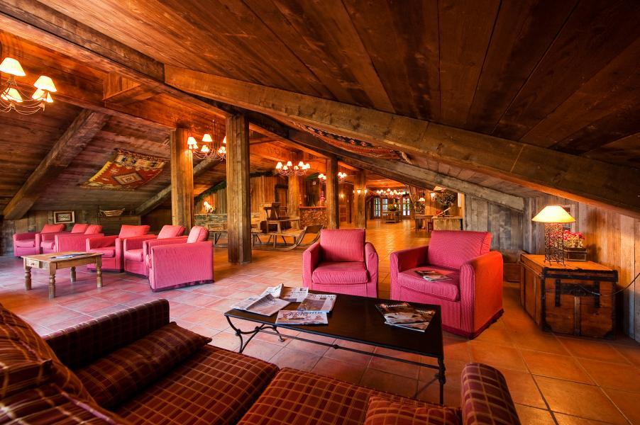 Location au ski Chalet Altitude - Les Arcs - Séjour