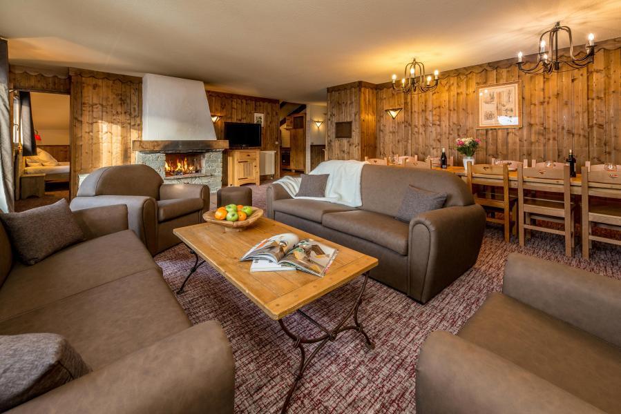 Location au ski Appartement 6 pièces 10-12 personnes - Chalet Altitude - Les Arcs - Canapé