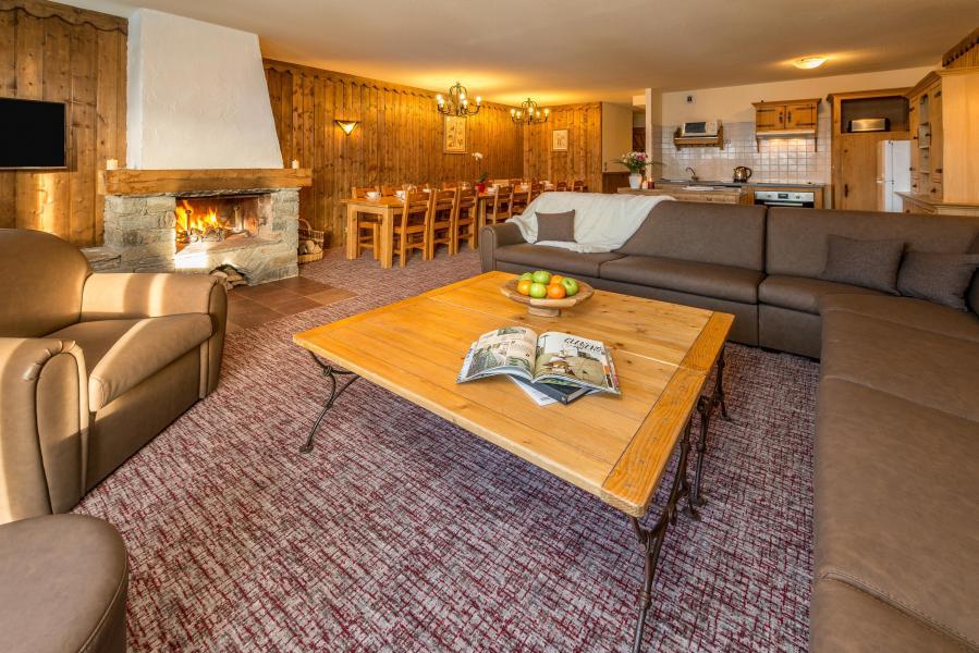 Location au ski Appartement duplex 8 pièces 14-16 personnes - Chalet Altitude - Les Arcs - Séjour