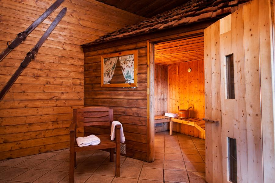 Location au ski Chalet Altitude - Les Arcs - Sauna