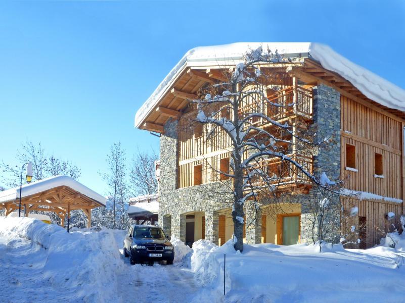 Location au ski Chalet des Arcs CED01 - Les Arcs - Extérieur hiver