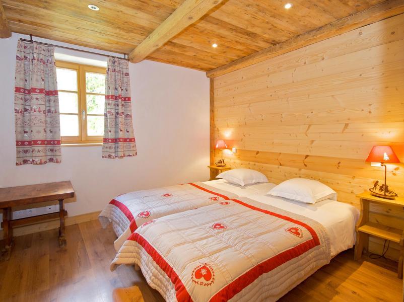 Rent in ski resort Chalet Deux Têtes I - Les Arcs - Bedroom