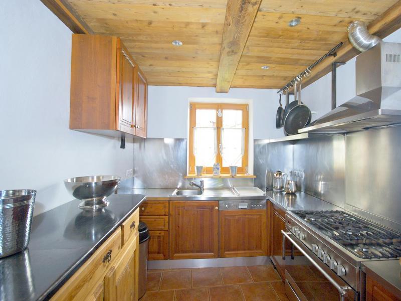 Rent in ski resort Chalet Deux Têtes I - Les Arcs - Kitchen