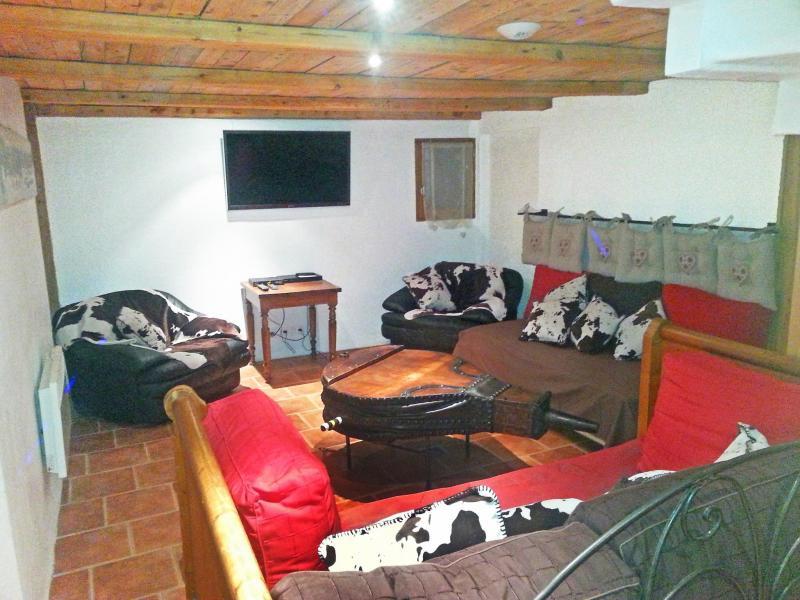 Rent in ski resort Chalet Deux Têtes I - Les Arcs - Living area