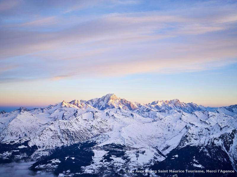 Wakacje w górach Chalet Père Marie - Les Arcs - Zima na zewnątrz