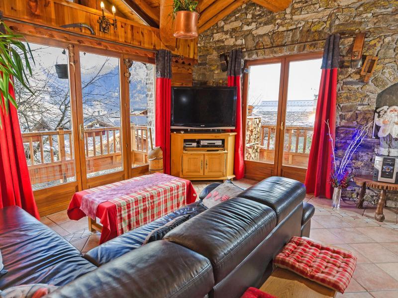 Location au ski Chalet Villaroger - Les Arcs - Séjour