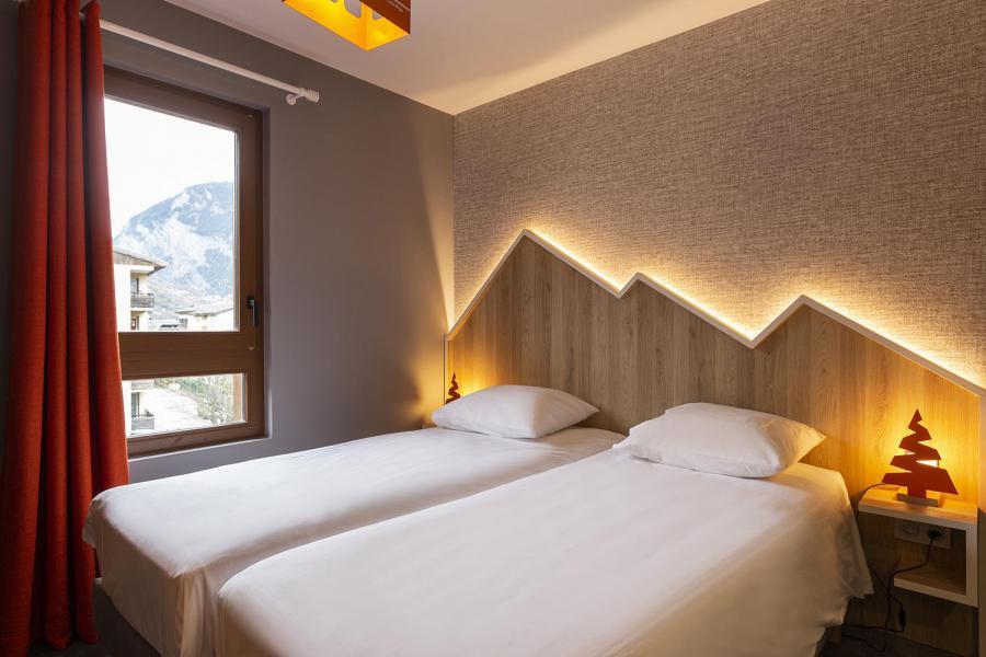 Alquiler al esquí Hôtel Base Camp Lodge - Les Arcs - Camas twin