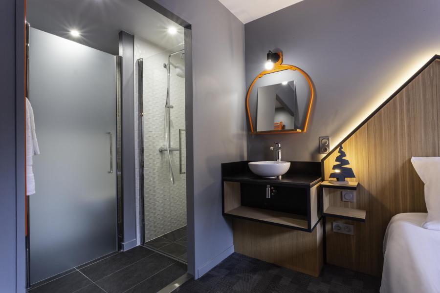 Alquiler al esquí Hôtel Base Camp Lodge - Les Arcs - Cuarto de baño con ducha