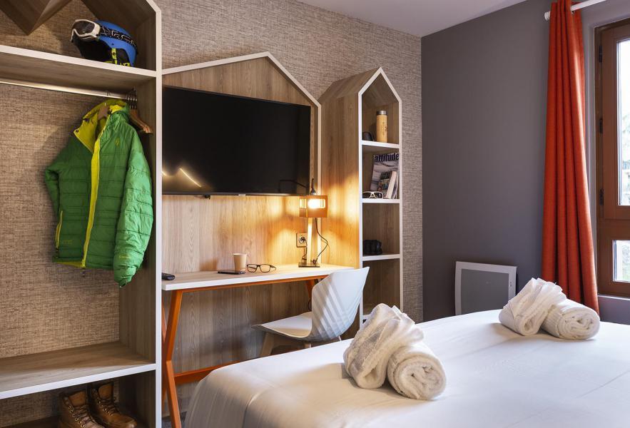 Alquiler al esquí Habitación 2 personas (CORDEE) - Hôtel Base Camp Lodge - Les Arcs - Cama doble