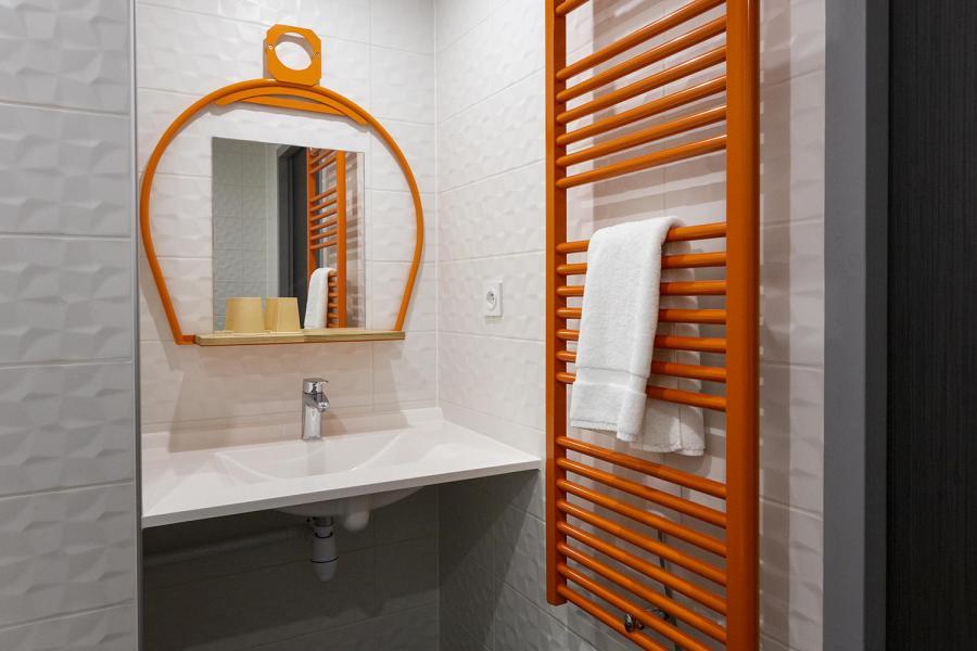 Alquiler al esquí Habitación 2 personas (CORDEE) - Hôtel Base Camp Lodge - Les Arcs - Cuarto de baño