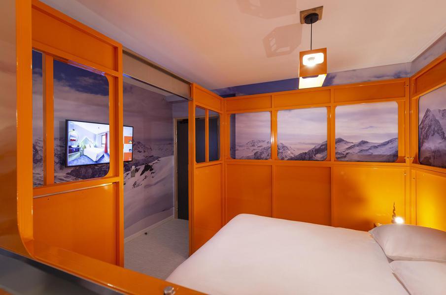 Alquiler al esquí Habitación 2 personas (TELEPHERIQUE) - Hôtel Base Camp Lodge - Les Arcs - Cama doble