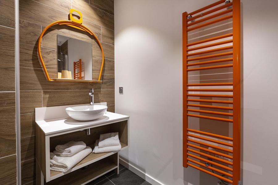 Alquiler al esquí Habitación 2 personas (TELEPHERIQUE) - Hôtel Base Camp Lodge - Les Arcs - Cuarto de baño