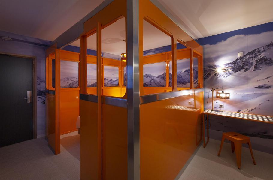 Alquiler al esquí Habitación 2 personas (TELEPHERIQUE) - Hôtel Base Camp Lodge - Les Arcs - Habitación