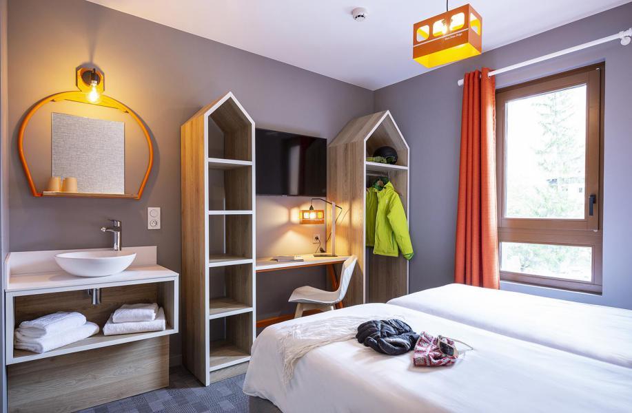 Alquiler al esquí Hôtel Base Camp Lodge - Les Arcs - Habitación