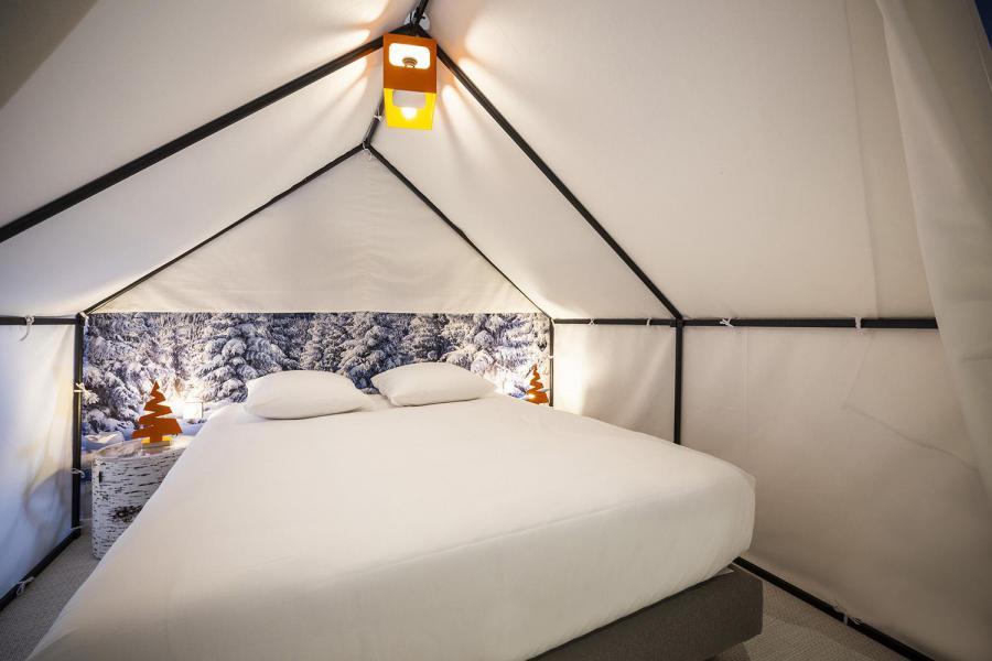 Alquiler al esquí Habitación para 1-2 personas (TENTE) - Hôtel Base Camp Lodge - Les Arcs - Cama doble