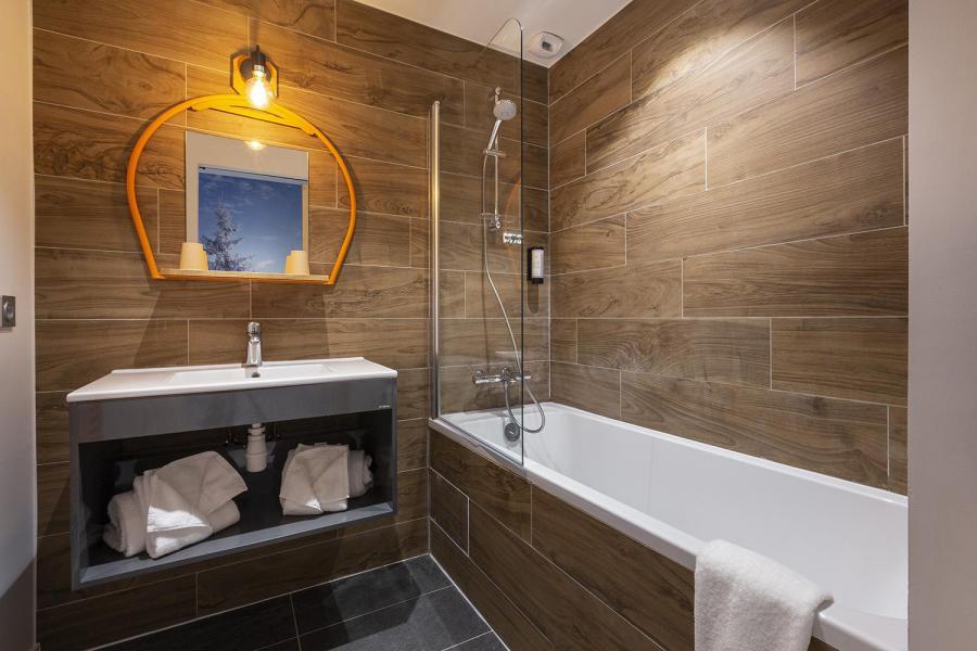 Alquiler al esquí Habitación para 1-2 personas (TENTE) - Hôtel Base Camp Lodge - Les Arcs - Cuarto de baño