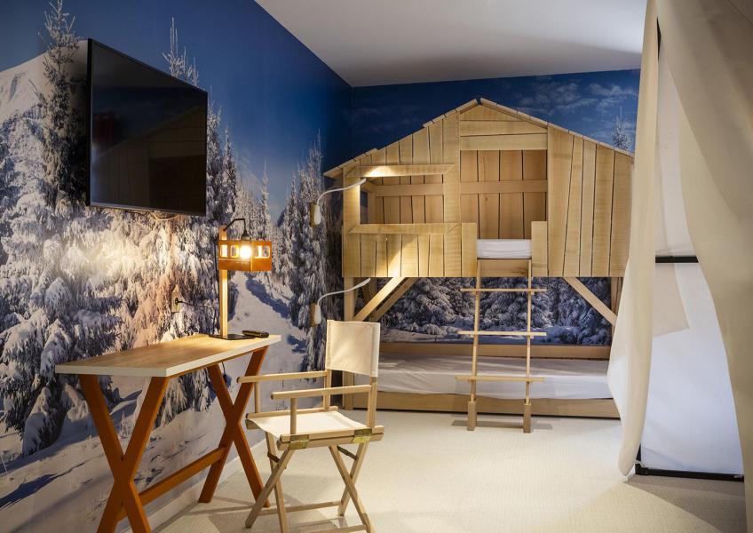 Alquiler al esquí Habitación para 1-2 personas (TENTE) - Hôtel Base Camp Lodge - Les Arcs - Habitación