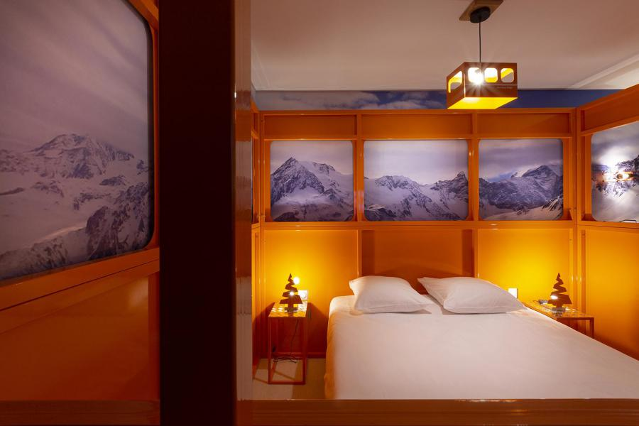 Wynajem na narty Pokój 2 osób (TELEPHERIQUE) - Hôtel Base Camp Lodge - Les Arcs - Łóżkem małżeńskim