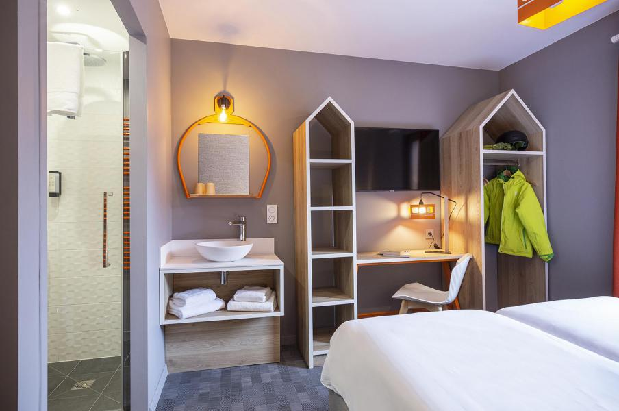 Wynajem na narty Hôtel Base Camp Lodge - Les Arcs - Pokój