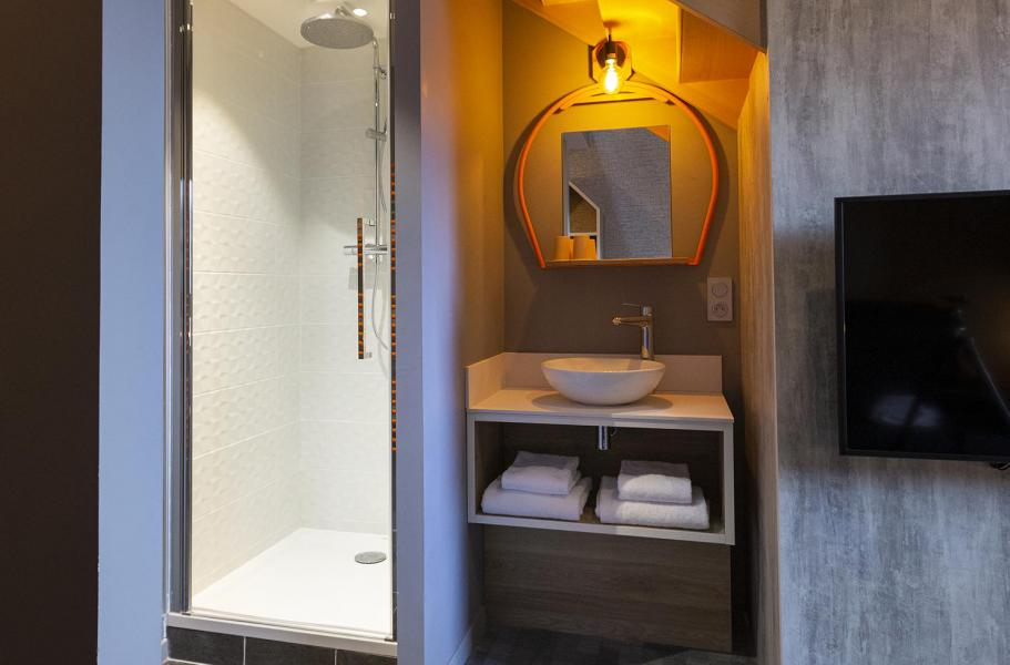 Alquiler al esquí Suite 1-2 personas (ISERAN) - Hôtel Base Camp Lodge - Les Arcs - Cuarto de baño