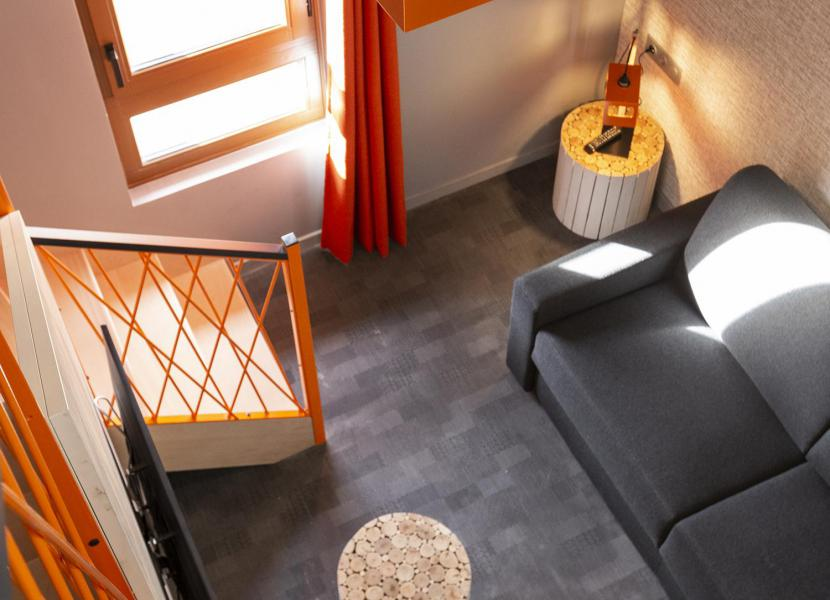 Wynajem na narty Suite dla 2-2 osób (ISERAN) - Hôtel Base Camp Lodge - Les Arcs - Antresola