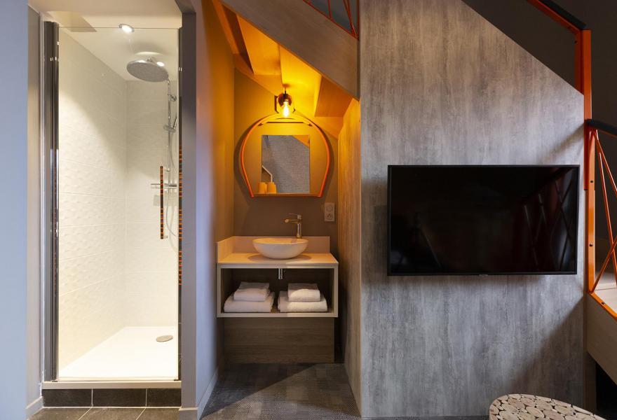Wynajem na narty Suite dla 2-2 osób (ISERAN) - Hôtel Base Camp Lodge - Les Arcs - Łazienka