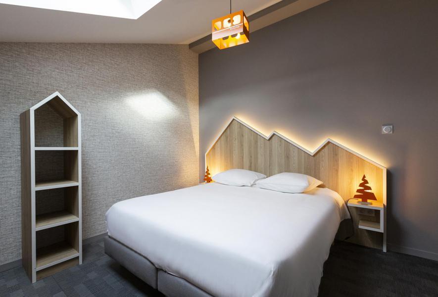 Wynajem na narty Suite dla 2-2 osób (ISERAN) - Hôtel Base Camp Lodge - Les Arcs - Łóżkem małżeńskim