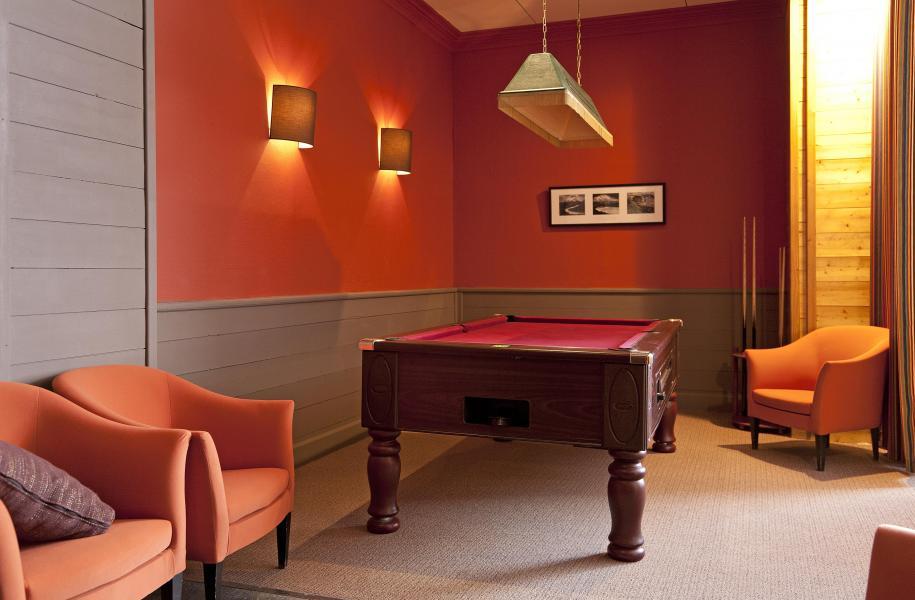 Location au ski Hotel Club Mmv Altitude - Les Arcs - Billard