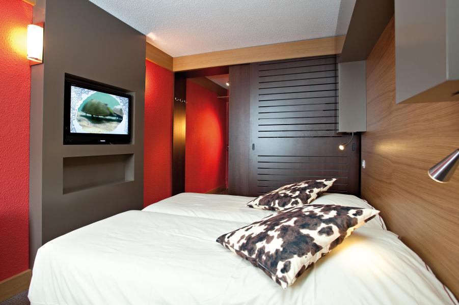 Skiverleih Hôtel Club MMV Altitude - Les Arcs - Schlafzimmer