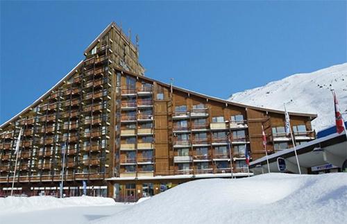 Location au ski Hotel Club Mmv Les Melezes - Les Arcs - Extérieur hiver