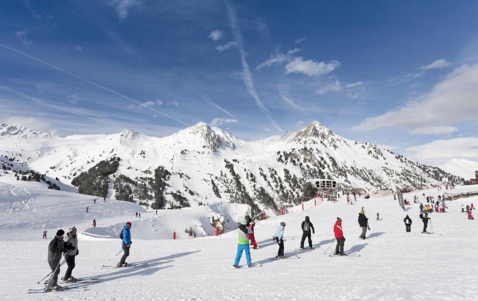 Location au ski Hôtel Club MMV les Mélèzes - Les Arcs - Extérieur hiver