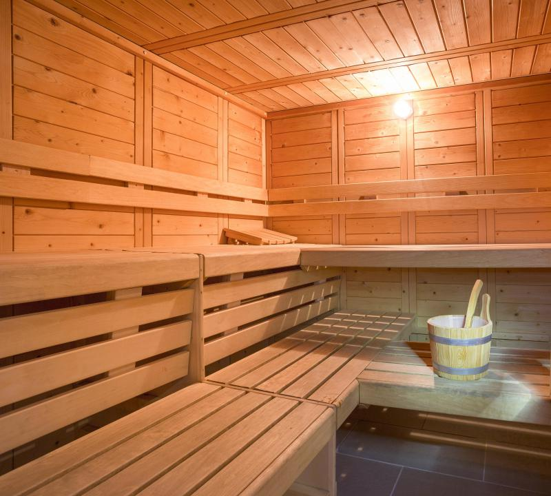 Location au ski Hôtel Club MMV les Mélèzes - Les Arcs - Sauna