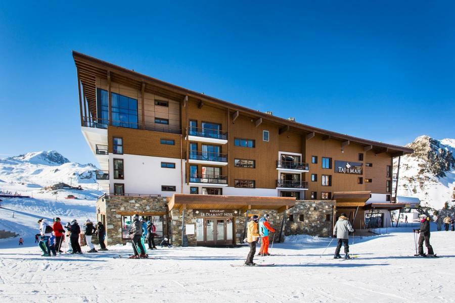 Location au ski Hôtel Taj-I Mah - Les Arcs - Extérieur hiver