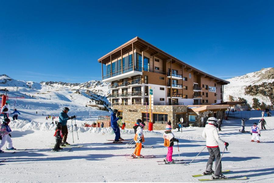 Vakantie in de bergen Hôtel Taj-I Mah - Les Arcs - Buiten winter
