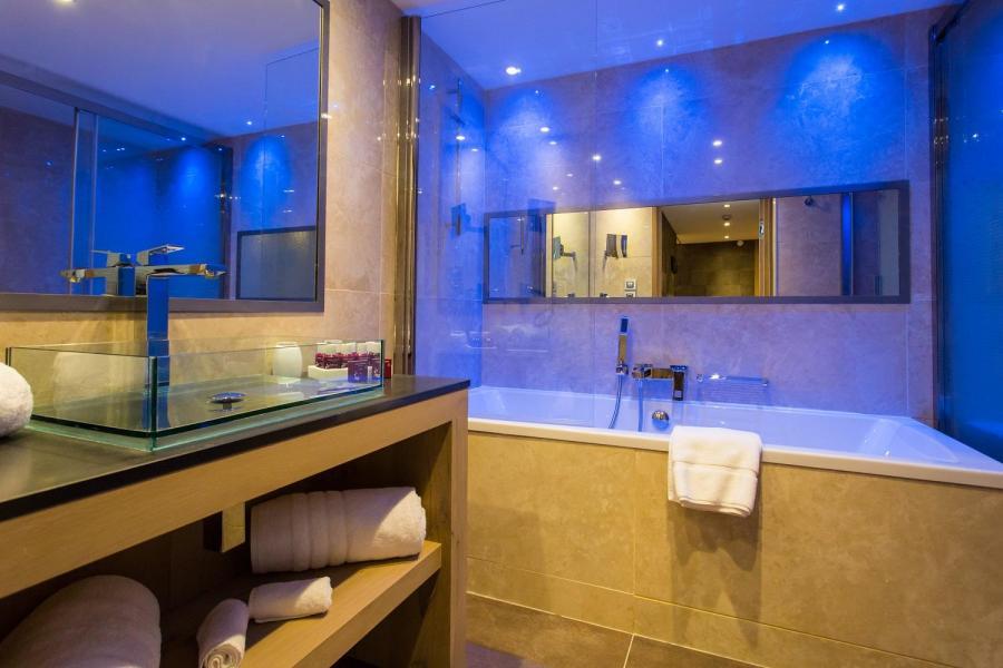 Skiverleih Hôtel Taj-I Mah - Les Arcs - Badezimmer
