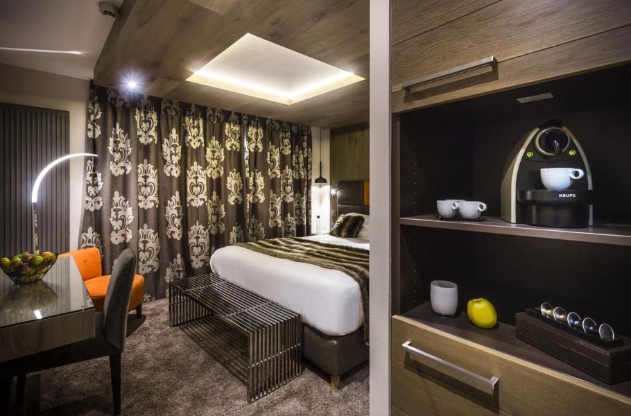 Rent in ski resort Hôtel Taj-I Mah - Les Arcs - Bedroom
