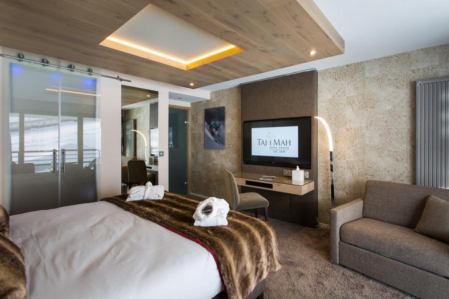 Location au ski Hôtel Taj-I Mah - Les Arcs - Coin nuit