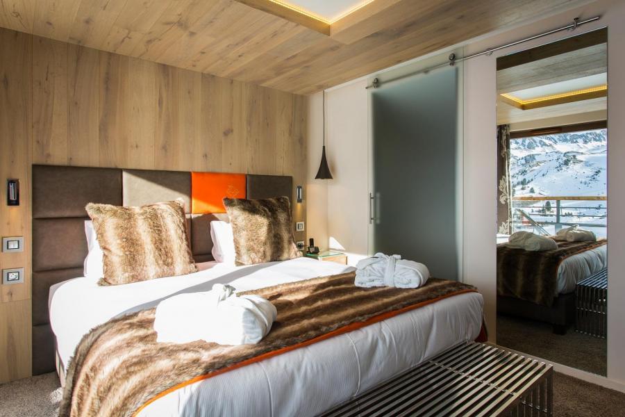 Skiverleih Hôtel Taj-I Mah - Les Arcs - Doppelbett
