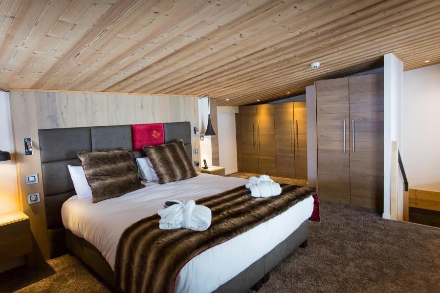 Rent in ski resort Hôtel Taj-I Mah - Les Arcs - Double bed