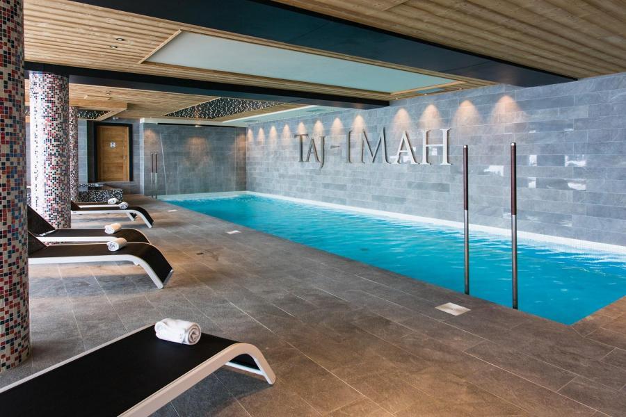 Location au ski Hôtel Taj-I Mah - Les Arcs - Piscine