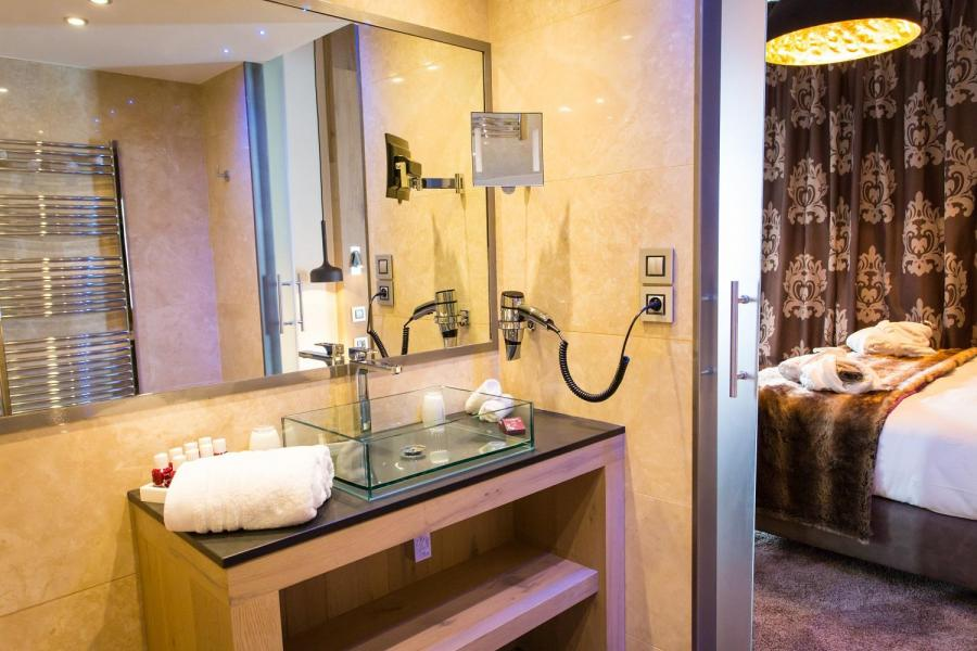 Skiverleih Hôtel Taj-I Mah - Les Arcs - Schlafzimmer