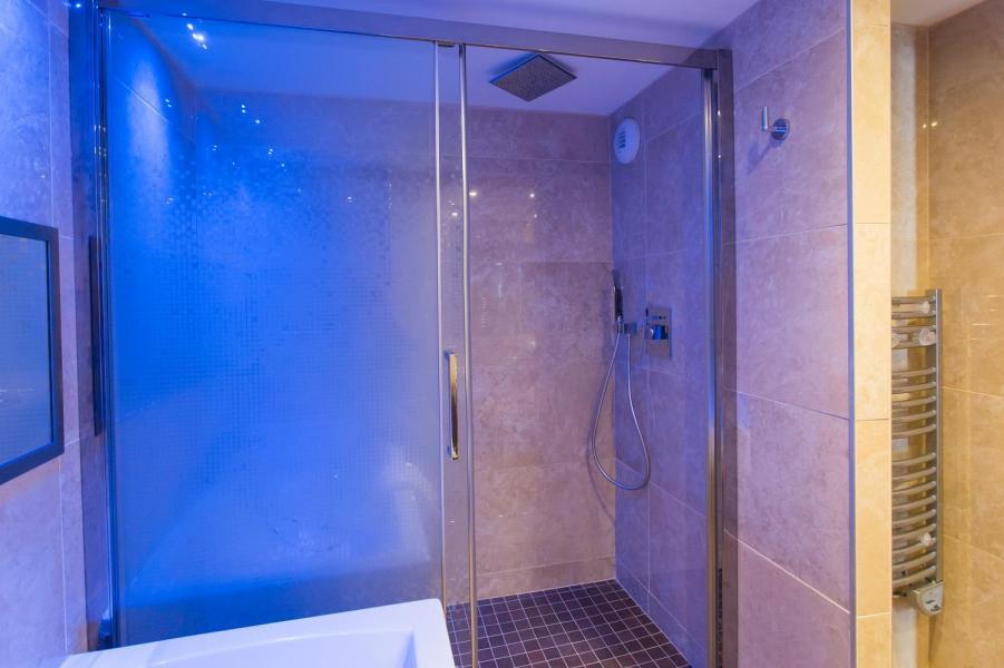 Rent in ski resort Hôtel Taj-I Mah - Les Arcs - Shower