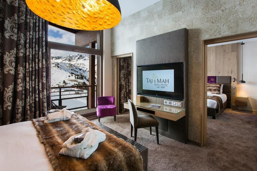 Rent in ski resort Hôtel Taj-I Mah - Les Arcs - Twin beds